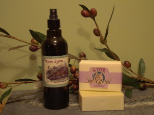 Lavender Oil and Castile Soap